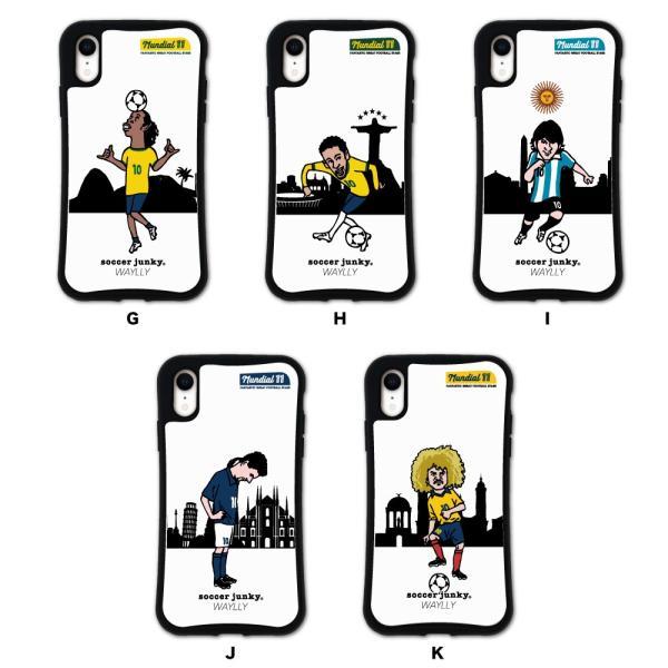 iPhone XR ケース スマホケース サッカージャンキー ジェリー 耐衝撃 シンプル おしゃれ くっつく ウェイリー WAYLLY _MK_ waylly 03