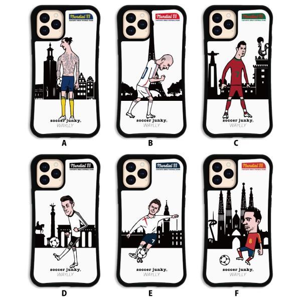 iPhone11 Pro ケース スマホケース サッカージャンキー ジェリー 耐衝撃 シンプル おしゃれ くっつく ウェイリー WAYLLY _MK_|waylly|02