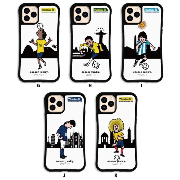 iPhone11 Pro ケース スマホケース サッカージャンキー ジェリー 耐衝撃 シンプル おしゃれ くっつく ウェイリー WAYLLY _MK_|waylly|03