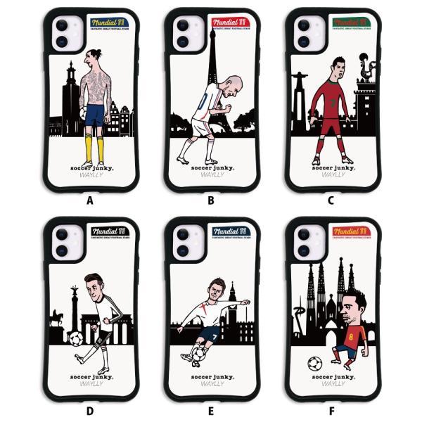 iPhone11 ケース スマホケース サッカージャンキー ジェリー 耐衝撃 シンプル おしゃれ くっつく ウェイリー WAYLLY _MK_ waylly 02