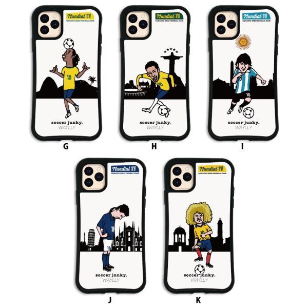 iPhone11 Pro MAX ケース スマホケース サッカージャンキー ジェリー 耐衝撃 シンプル おしゃれ くっつく ウェイリー WAYLLY _MK_|waylly|03