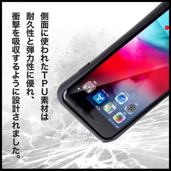 iPhone XR ケース スマホケース SPiCYSOL 耐衝撃 シンプル おしゃれ くっつく ウェイリー WAYLLY _MK_|waylly|15