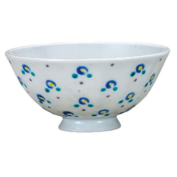 九谷焼 夫婦茶碗 小花|waza|02
