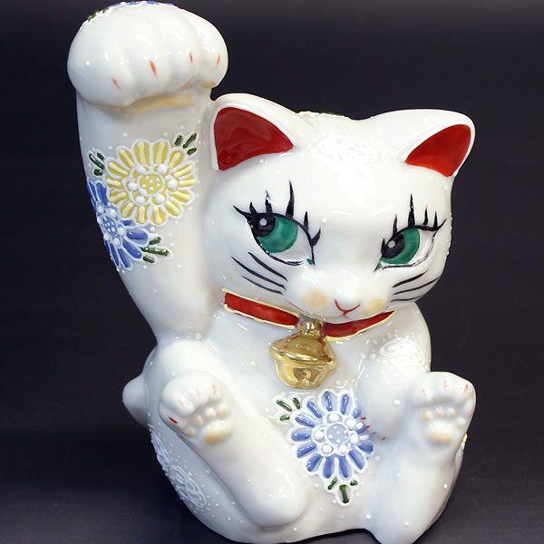 でっかく福を招く!剛腕 招き猫 白盛くん|waza|02