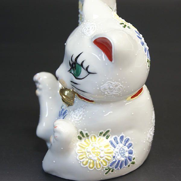 でっかく福を招く!剛腕 招き猫 白盛くん|waza|03