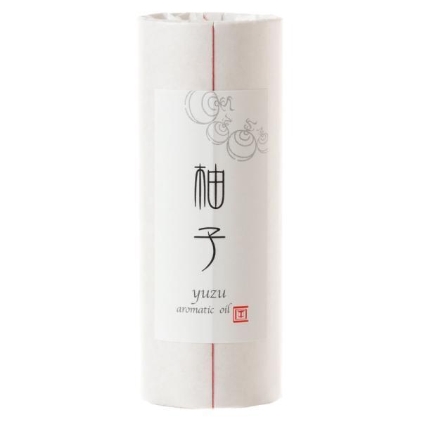 cotoiro香油 柚子 和の香りのアロマオイル 紙管入り ART LAB Japanese scented aroma oil