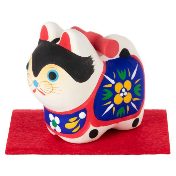 和紙置物 犬張子 ミニ 子宝・安産のお守り 出産祝いなどにも Papier-mache dog made of Japanese paper