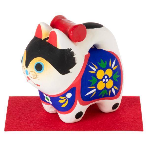 和紙置物 犬張子 1号 子宝・安産のお守り 出産祝いなどにも Papier-mache dog made of Japanese paper