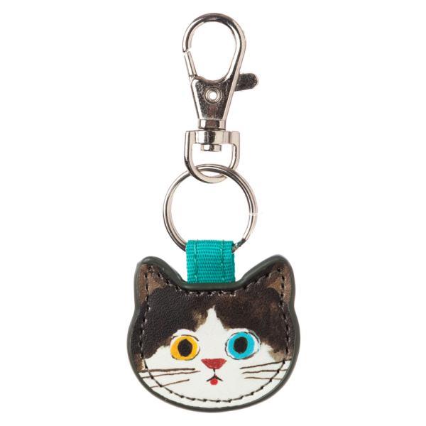 猫のキーチャーム はちわれ ECOUTE minette キーホルダー まあるいおめめのキュートな猫たち
