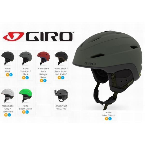 ジロ ヘルメット 2019 GIRO ZONE MIPS ジロ ゾーン ミップス スキー、スノボーヘルメット  ウインタースポーツ用