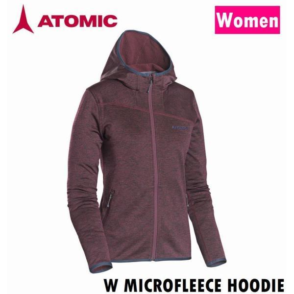 ATOMIC アトミックパーカー W MICROFLEECE HOODIE AP5040440
