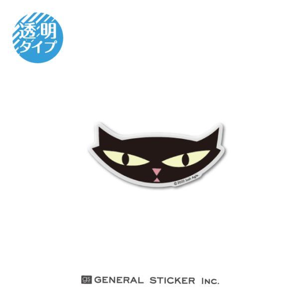 SHAG 透明 CATHEADS BLACK EDGE Sサイズ シャグ アート アーティスト ステッカー イラスト ライセンス商品 SHAG014 gs 公式グッズ