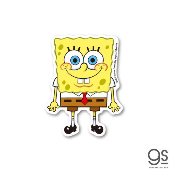 スポンジ・ボブ ボブ キャラクターステッカー アメリカ アニメ SpongeBob ダイカットステッカー SPO001 gs 公式グッズ