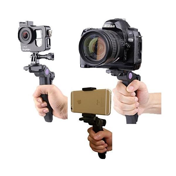 VEROMAN スタビライザー ミニ三脚 ビデオカメラ デジタルカメラ GoPro|web-mark