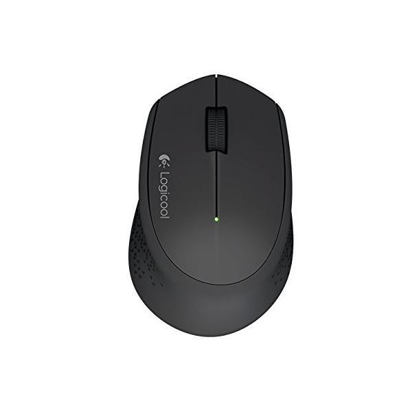 LOGICOOL ロジクール M280 2.4GHz ワイヤレスマウス 無線マウス ブラック M280BK 省エネルギー設計 超コンパクト アド|web-mark