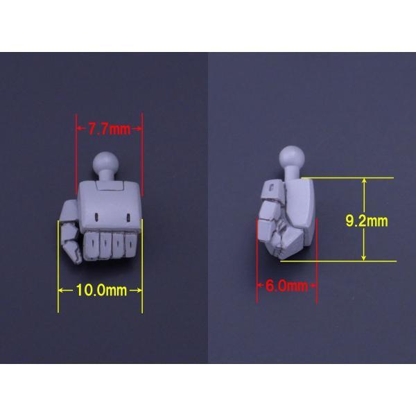 13cmサイズロボット用ハンド・角指(1)|web-shop-ourtreasure|08