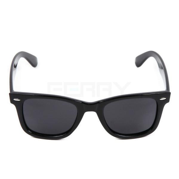 FERRY 偏光レンズ ウェリントン サングラス ポーチ&クロス セット ブラック ユニセックス メンズ レディース 眼鏡 メガネ 釣り ドライブ UVカット|web-store|03