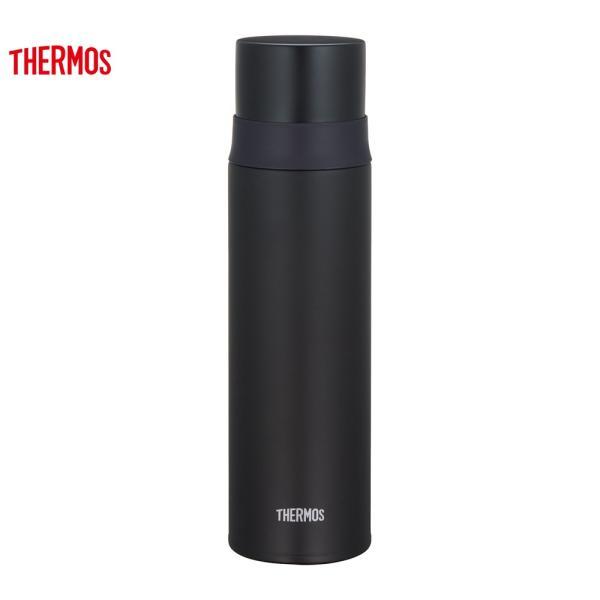 サーモス水筒ステンレススリムボトル500mlマットブラックFFM-501MTBK
