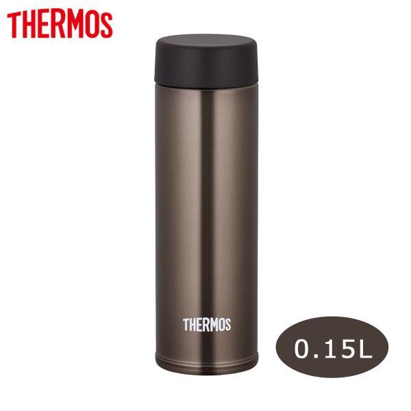 サーモス 水筒 0.15L ブラウン スクリュー栓 真空断熱ポケットマグ JOJ-150 BW