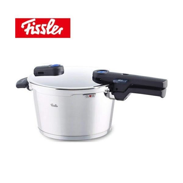 ビタクイックプラス 圧力鍋 4.5L Fissler フィスラー 蒸し器・三脚・料理ブック付き90-04-00-511