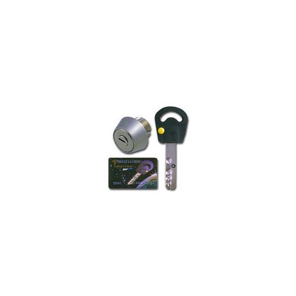 交換用シリンダー(鍵) マルティロック GOAL LX・AS用 シルバー