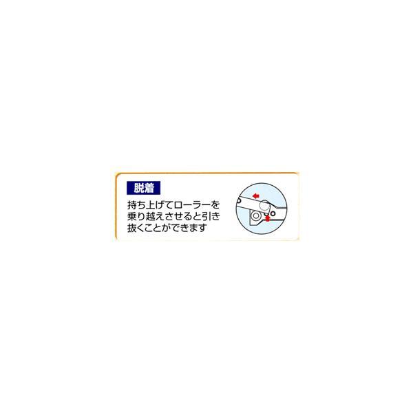 家具金物 スライドレールローラータイプ400ミリ web-takigawa 03