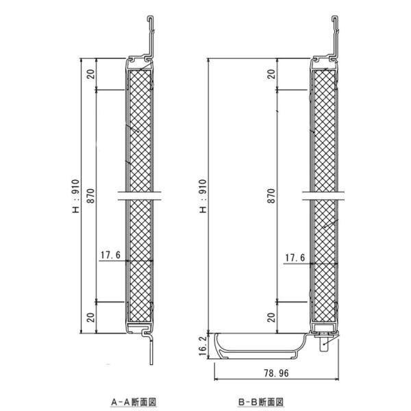 掲示板とホワイトボードがいっしょになった壁掛タイプのコンビボード 1210mm×910mm|web-takigawa|03