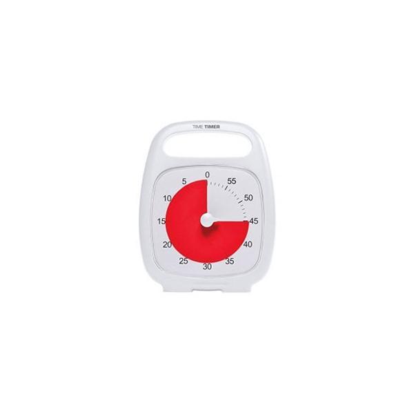 Time Timer Time Timer PLUS(R) タイムタイマー プラス White TTP7-WHT-W