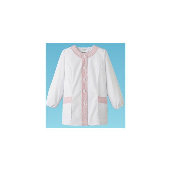 デザイン白衣 長袖 女性用 4L FA-723 SHK376 【サーヴォ サンペックスイスト 業務用 ユニフォーム 制服】