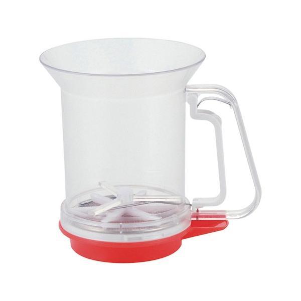 貝印 洗える粉ふるい 受け皿付 DL6261 BKN2801