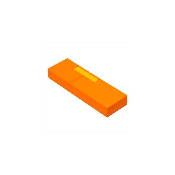 ナカバヤシ ディスプレイペンケース Mサイズ オレンジ PCN-DP02OR