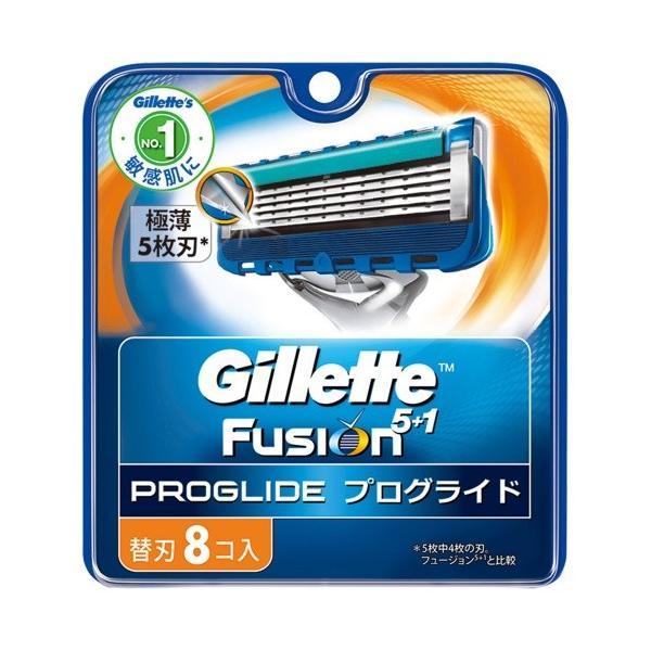 P&G ジレット フュージョン 5+1 プログライド フレックスボール マニュアル 替刃 8個入
