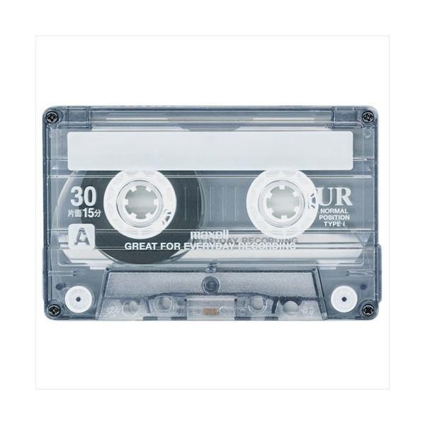 マクセル maxell カセットテープ「UR」 ノーマルポジション 30分 4巻パック UR-30M 4P