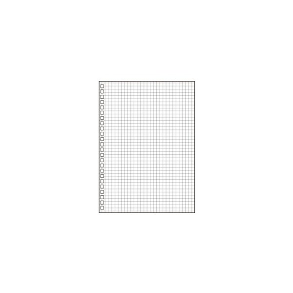 LIHIT LAB リヒトラブ ツイストリングノート専用リーフ方眼罫 A5 N-1650S