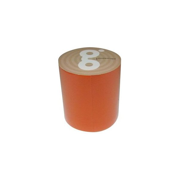 Monf ガムテ gbk ガムテ 蛍光オレンジ 50mm×5m ハンドメイド ラッピング デコレーション 工作 自由研究 自作 作ってみよう