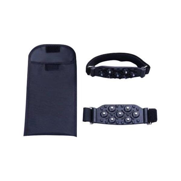 コンパル ニュー・携帯簡単スパイク 収納袋付 黒