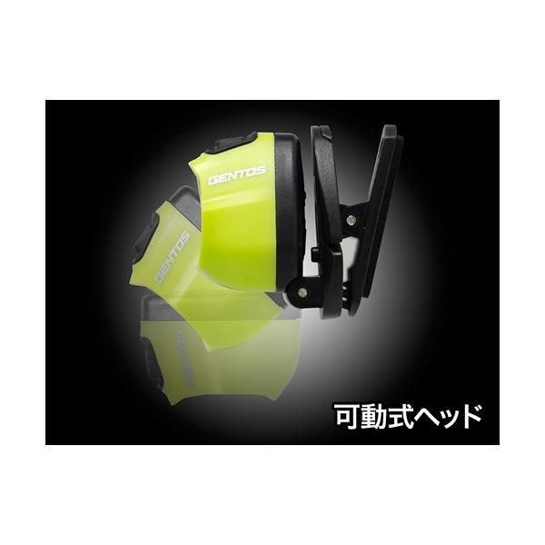 ジェントス GENTOS 小型ヘッドライト HC-24YG