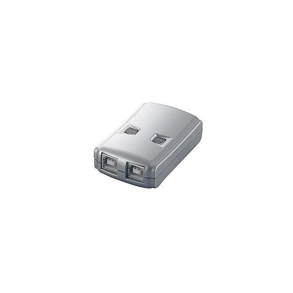 エレコム ELECOM USB2.0対応切替器 2切替 USS2-W2