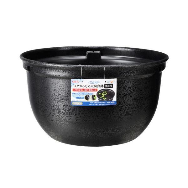 ジェックスGEXメダカ元気メダカのための飼育鉢黒370