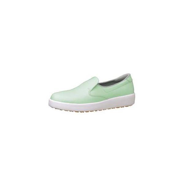 ミドリ安全 ハイグリップ作業靴 H-700N 25.5cm グリーン SKT4339