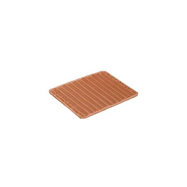 萬洋 樹脂製すのこ 茶 大 91-021B WSN1301