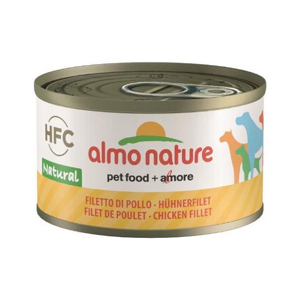almonature アルモネイチャー クラシック 鶏肉のフィレのご馳走 95g缶 ◇◇