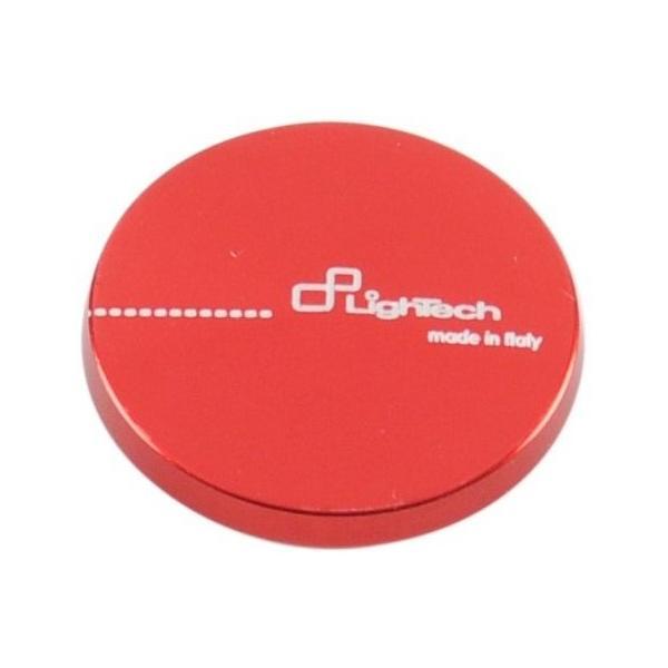 LighTech LighTech:ライテック スイングアームスプール / ハンドルバーウェイト用アルミニウムキャップ カラー:レッド