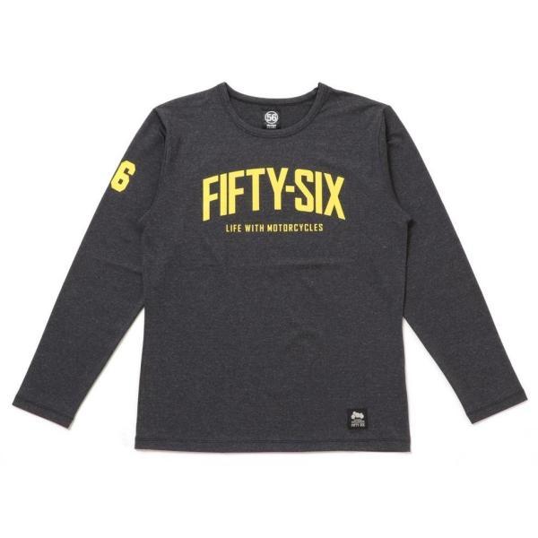 56design 56design:56デザイン XYLITOL COOL&DRY FIFTY-SIX LONG T-SHIRT KF [キシリトール クール&ドライ フィフティーシックス ロングTシャツ] サイズ:XL