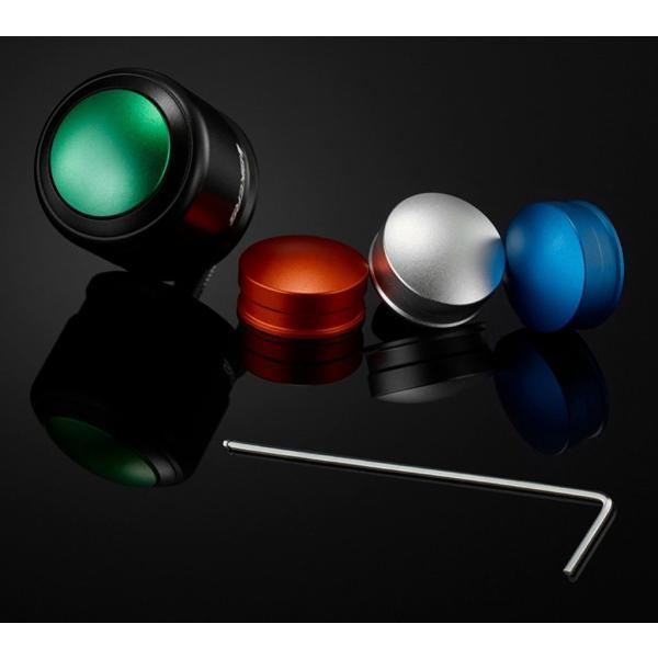 BIKERS BIKERS:バイカーズ Handle Bar Caps (Use with Standard Handle Bar) カラー:Matt Black/Matt Silver GTS SUPER 150 Vespa ベスパ