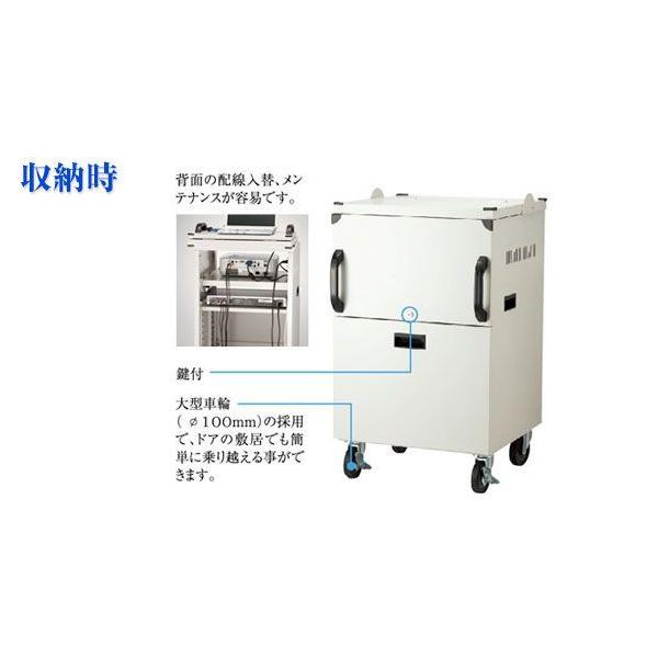 IZUMI  イズミ PJ-I  2段階扉式プロジェクターカート