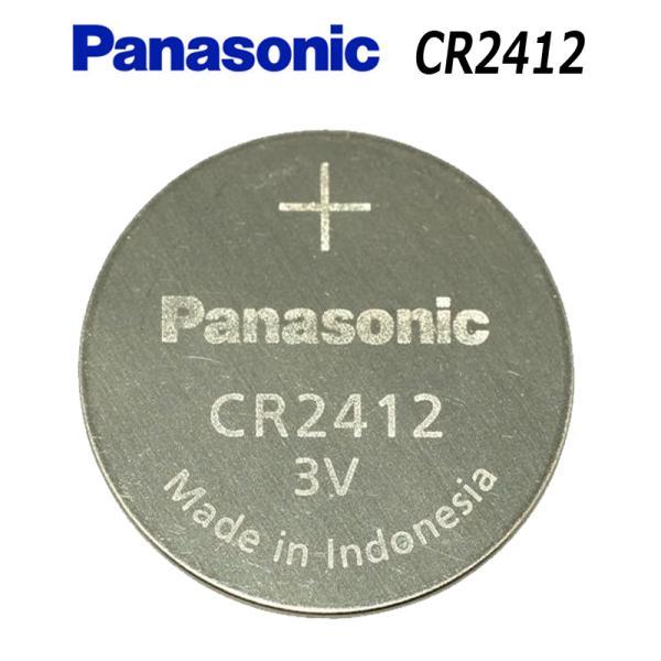 [1個]Panasonic パナソニック CR2412 ボタン電池 3V cr 2412 リチウムコイン電池 cr-2412業務量電池小分け 送料無料