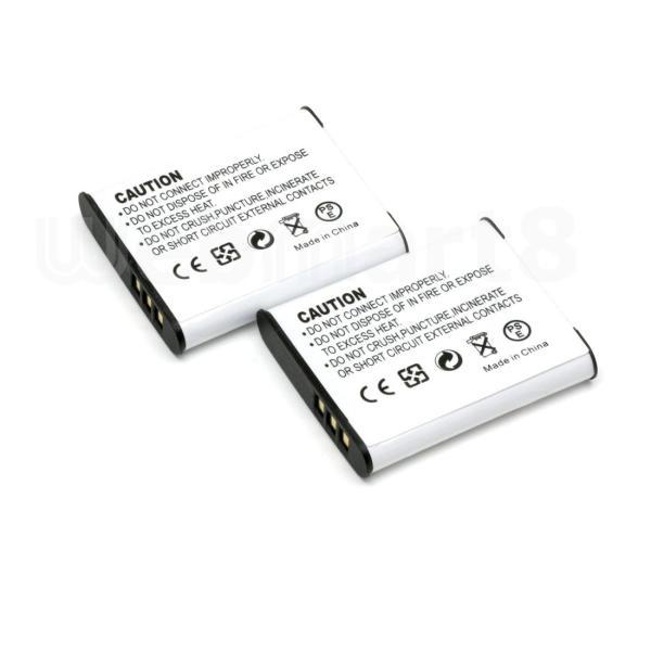 オリンパス LI-50B 互換バッテリー 2個セット