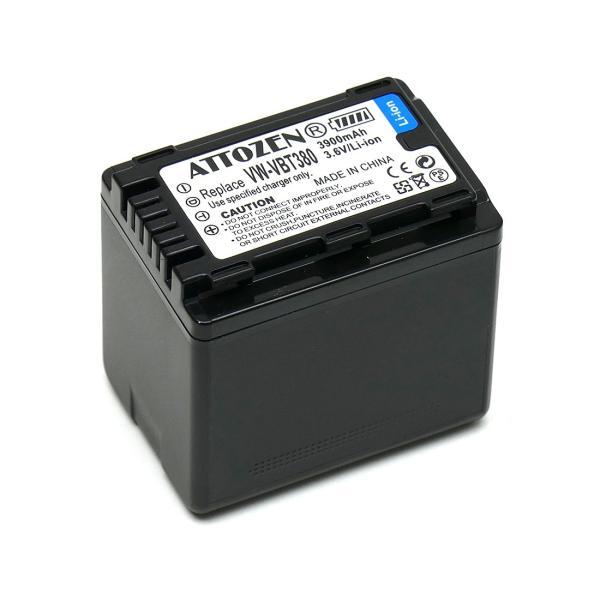 パナソニック VW-VBT380-K 互換バッテリー