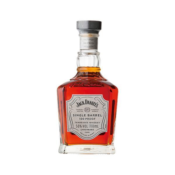 業務店御用達誕生日ウイスキージャックダニエルシングルバレル100プルーフ:750ml洋酒Whisky(21-4)